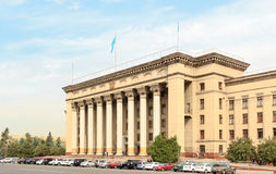 Καζάκος-βρετανικό τεχνικό πανεπιστήμιο Αλμάτι, Καζακστάν Στοκ φωτογραφίες με δικαίωμα ελεύθερης χρήσης