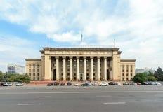 Καζάκος-βρετανικό τεχνικό πανεπιστήμιο Αλμάτι, Καζακστάν Στοκ φωτογραφία με δικαίωμα ελεύθερης χρήσης
