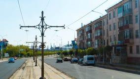 Καζακστάν μεταλλουργικό φυτό Arcelor-Mittal στην πόλη Temirtau Στοκ εικόνες με δικαίωμα ελεύθερης χρήσης