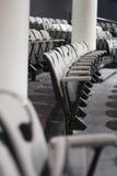 καθίσματα αίθουσας συνδιαλέξεων Στοκ Εικόνα