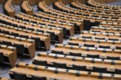 καθίσματα αίθουσας συνδιαλέξεων Στοκ Εικόνες