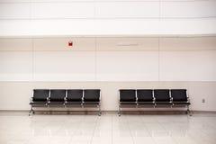 καθίσματα αερολιμένων Στοκ εικόνες με δικαίωμα ελεύθερης χρήσης