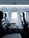 Καθίσματα αεροπλάνων Στοκ φωτογραφία με δικαίωμα ελεύθερης χρήσης