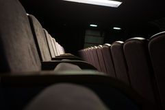 Καθίσματα αιθουσών συναυλιών Στοκ Φωτογραφία
