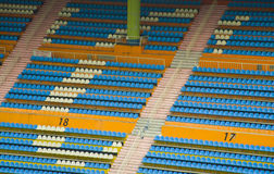 Καθίσματα γηπέδου ποδοσφαίρου στο στάδιο του guangzhou Στοκ φωτογραφίες με δικαίωμα ελεύθερης χρήσης