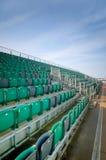 Καθίσματα εξεδρών επισήμων Στοκ φωτογραφία με δικαίωμα ελεύθερης χρήσης