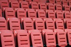 Καθίσματα λευκαντών Στοκ Εικόνες