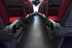 Καθίσματα λεωφορείων Στοκ εικόνες με δικαίωμα ελεύθερης χρήσης