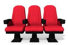 Καθίσματα θεάτρων Στοκ Φωτογραφίες