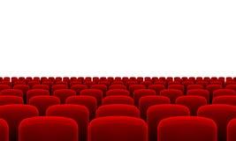 Καθίσματα θεάτρων Στοκ εικόνα με δικαίωμα ελεύθερης χρήσης