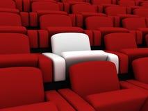 καθίσματα κινηματογράφων Στοκ φωτογραφία με δικαίωμα ελεύθερης χρήσης