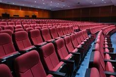καθίσματα κινηματογράφων Στοκ Εικόνες