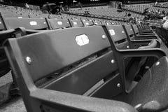 Καθίσματα μπέιζ-μπώλ Στοκ Εικόνες