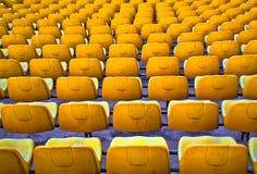 Καθίσματα ποδοσφαίρου Στοκ φωτογραφία με δικαίωμα ελεύθερης χρήσης
