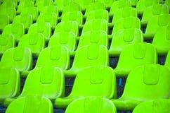 Καθίσματα ποδοσφαίρου Στοκ Εικόνες
