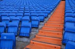 Καθίσματα σταδίων στη Μαδρίτη - την Ισπανία στοκ εικόνα με δικαίωμα ελεύθερης χρήσης