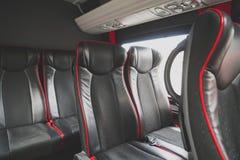 Καθίσματα στο μικρό λεωφορείο στοκ φωτογραφίες με δικαίωμα ελεύθερης χρήσης