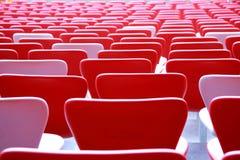 Καθίσματα στο στάδιο Στοκ εικόνα με δικαίωμα ελεύθερης χρήσης