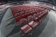 Καθίσματα συναυλίας στοκ φωτογραφίες