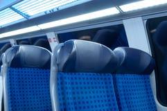 Καθίσματα 3 τραίνων Στοκ Φωτογραφίες