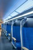 Καθίσματα 2 τραίνων Στοκ Φωτογραφίες