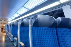 Καθίσματα 1 τραίνων Στοκ Φωτογραφία