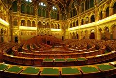 καθίσματα των Κοινοβου& Στοκ Φωτογραφία