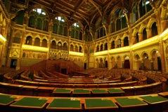καθίσματα των Κοινοβου& Στοκ εικόνα με δικαίωμα ελεύθερης χρήσης