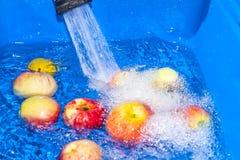 Καθαρά μήλα Στοκ Φωτογραφία