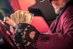 Καθαρά χρήματα μετρητών ζωμού στοκ εικόνα