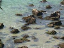καθαρά ύδατα goa Στοκ Εικόνες