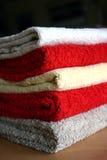 καθαρές πετσέτες Στοκ Εικόνες