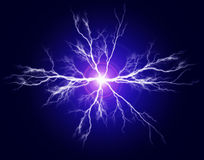 Καθαρές δύναμη και ηλεκτρική ενέργεια ελεύθερη απεικόνιση δικαιώματος