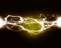 Καθαρές δύναμη και ηλεκτρική ενέργεια Στοκ Φωτογραφίες
