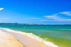Καθαρή άμμος παραλιών θάλασσας στοκ φωτογραφία με δικαίωμα ελεύθερης χρήσης