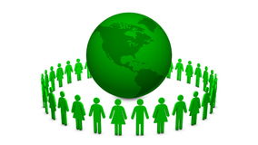 καθαρή γη πράσινη απόθεμα βίντεο