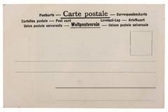Καθαρή εξασθενισμένη, κουρελιασμένη εκλεκτής ποιότητας κάρτα Στοκ Εικόνα