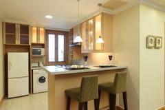 καθαρή κουζίνα σύγχρονη Στοκ Φωτογραφία