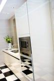 καθαρή κουζίνα σύγχρονη Στοκ Εικόνες