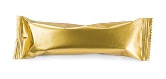 Καθαρή συσκευασία χρυσή Στοκ εικόνα με δικαίωμα ελεύθερης χρήσης