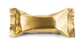 Καθαρή συσκευασία χρυσή Στοκ φωτογραφία με δικαίωμα ελεύθερης χρήσης