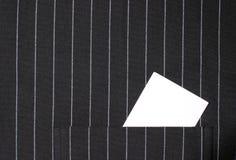 καθαρή τσέπη καρτών Στοκ φωτογραφία με δικαίωμα ελεύθερης χρήσης