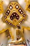 Καθαρή χρυσή εικόνα του Βούδα σε Wat Traimit, Μπανγκόκ, Ταϊλάνδη Στοκ φωτογραφία με δικαίωμα ελεύθερης χρήσης