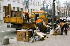 καθαρίζοντας αντικείμενα του Gdynia περιττά Στοκ Εικόνα