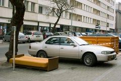 καθαρίζοντας αντικείμενα του Gdynia περιττά Στοκ εικόνα με δικαίωμα ελεύθερης χρήσης