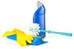 καθαρίζοντας εργαλεία Στοκ εικόνες με δικαίωμα ελεύθερης χρήσης