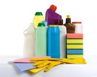 καθαρίζοντας κουζίνα εξαρτήσεων Στοκ φωτογραφία με δικαίωμα ελεύθερης χρήσης