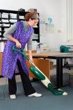 καθαρίζοντας κυρία Στοκ εικόνες με δικαίωμα ελεύθερης χρήσης