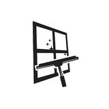 Καθαρίζοντας λογότυπο παραθύρων Στοκ Εικόνα
