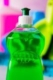 Καθαρίζοντας, πλένοντας, ζωηρά χρώματα Στοκ εικόνες με δικαίωμα ελεύθερης χρήσης